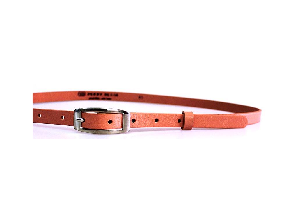 A Dámský kožený pásek 15-2-503 růžový