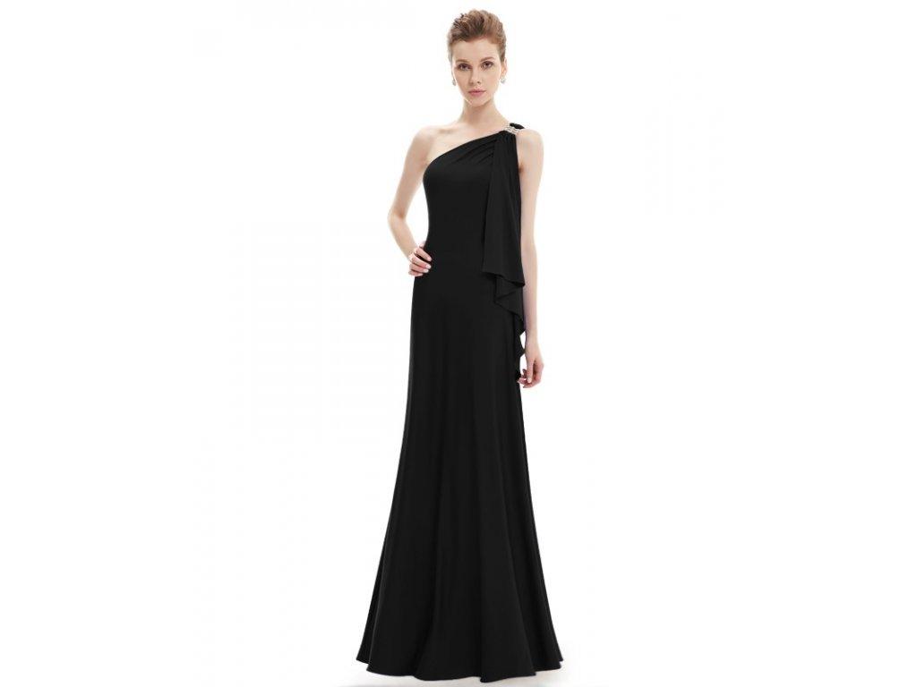3704a2e4325 Ever Pretty plesové šaty černé splývavé 9463 - trendy-obleceni.cz
