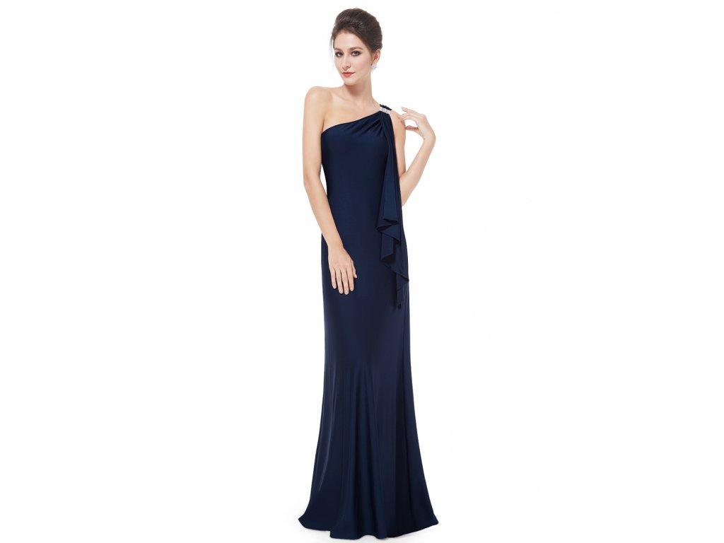 Ever Pretty plesové šaty modré splývavé 9463 - trendy-obleceni.cz f4ae76388d