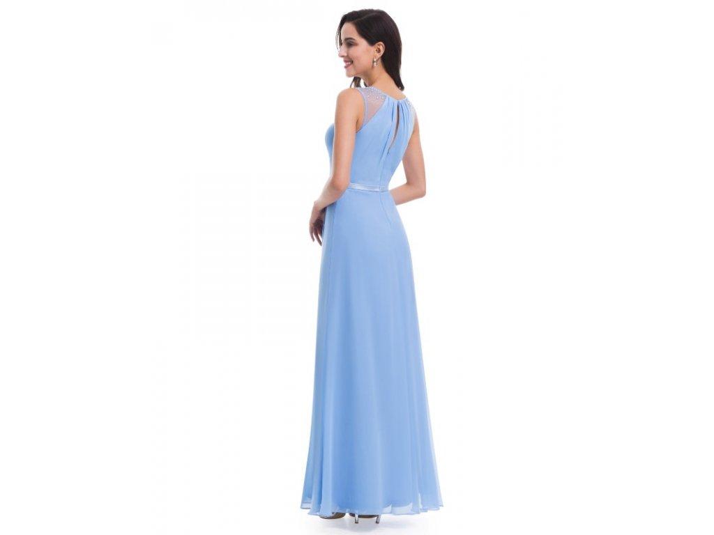 ... Ever Pretty plesové šaty s perličkami modré 8742 (Velikost 3XL   48    16   18eb2611fc4