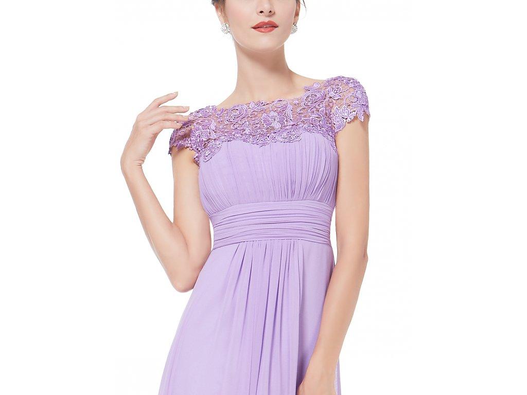 76d9e1177eab ... Ever Pretty krajkové šaty společenské fialové 9993 (Velikost 3XL   48    16   20