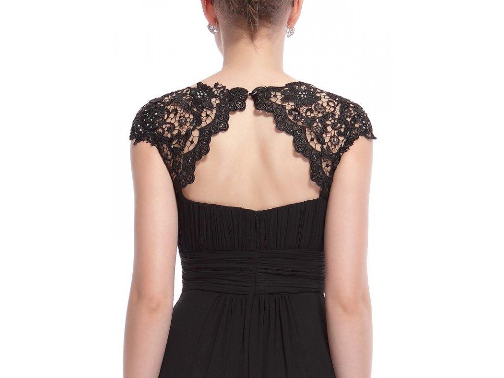 8824ec2e9ad Ever Pretty plesové šaty s krajkou černé 9993 - trendy-obleceni.cz