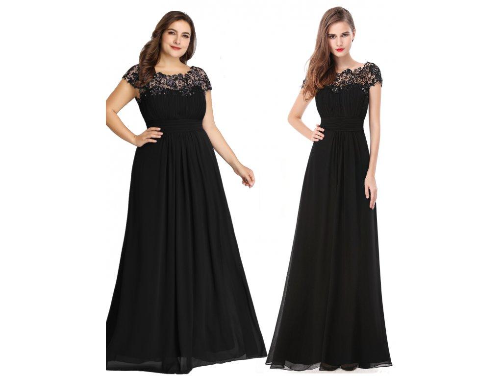 954e2bf075e2 EP09993BK L1a. EP09993BK L1a · Ever Pretty plesové šaty s krajkou ...