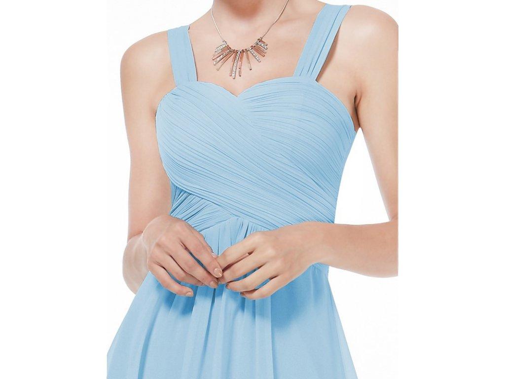 a74b57fa108e ... Ever Pretty letní šaty krátké jemně modré 3539 (Velikost 3XL   48   16  ...