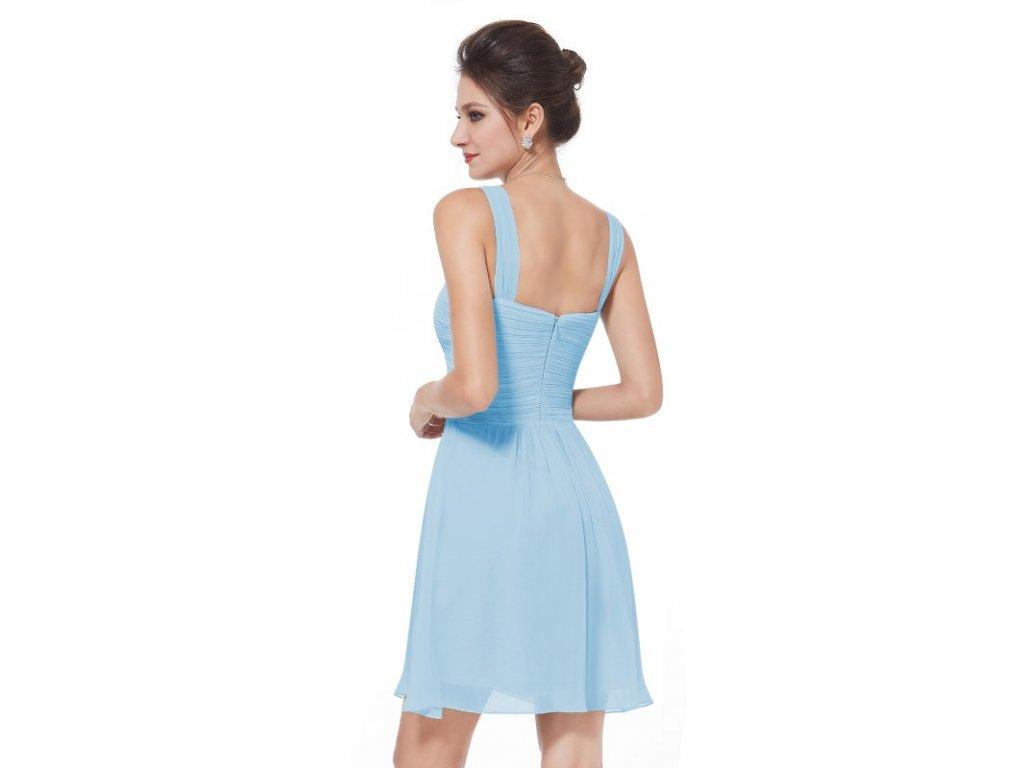 8ba69df5a66c ... Ever Pretty letní šaty krátké jemně modré 3539 (Velikost 3XL   48   16