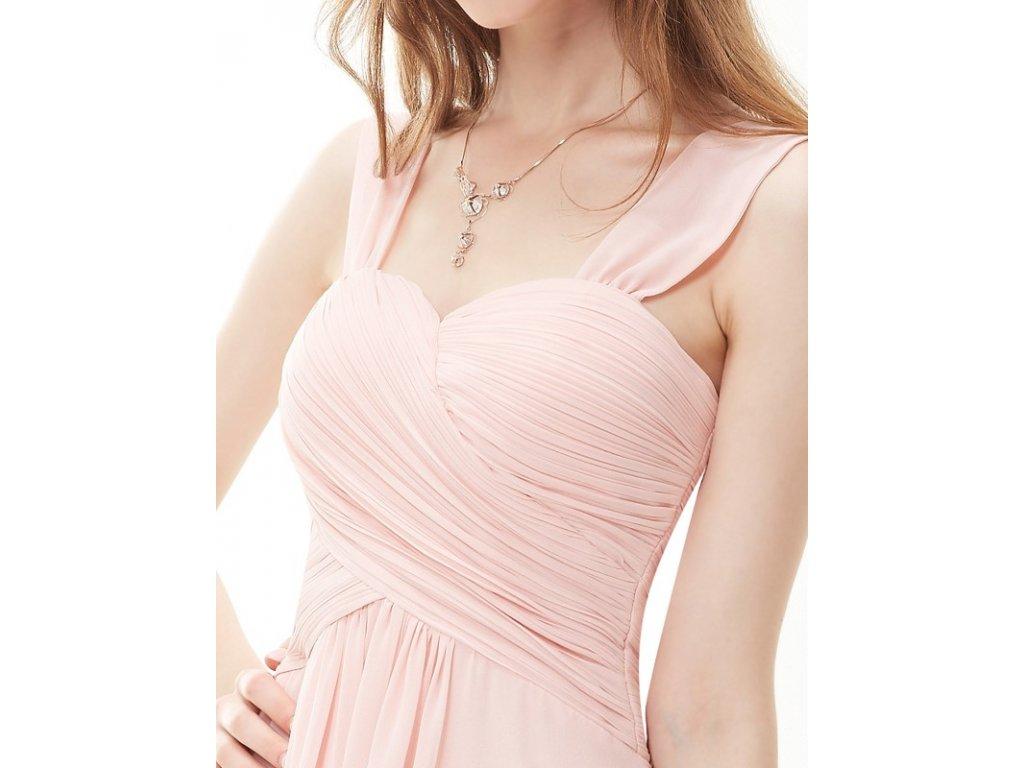 9a89a896bbfa ... Ever Pretty letní šaty krátké jemně růžové 3539 (Velikost 3XL   48   16