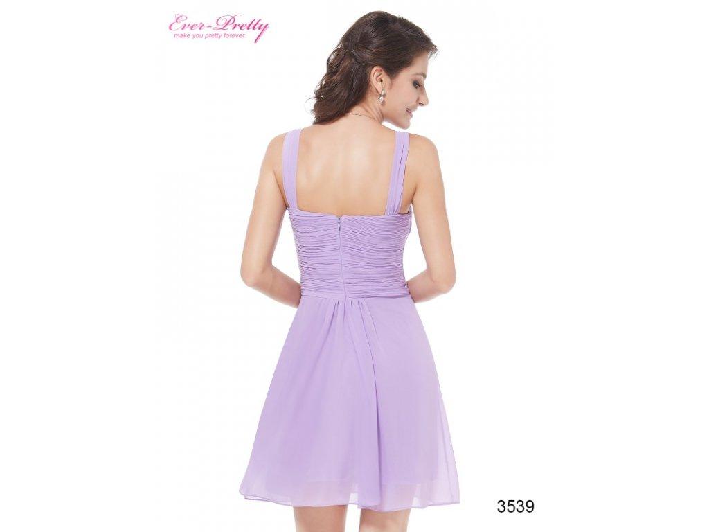 a19f43d424de ... Ever Pretty plesové šaty krátké fialové 3539 (Velikost 3XL   48   16    20