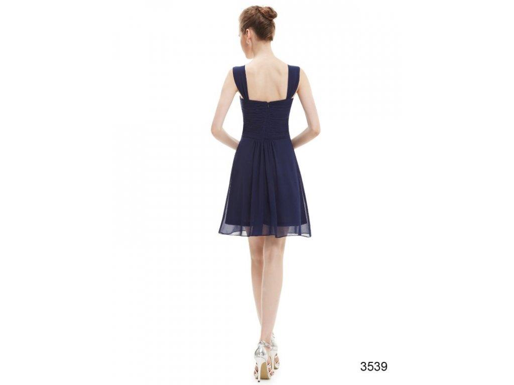 ... Plesové šaty krátké tmavě modré Ever Pretty 3539 (Velikost 3XL   48    16   a8ae5cc925