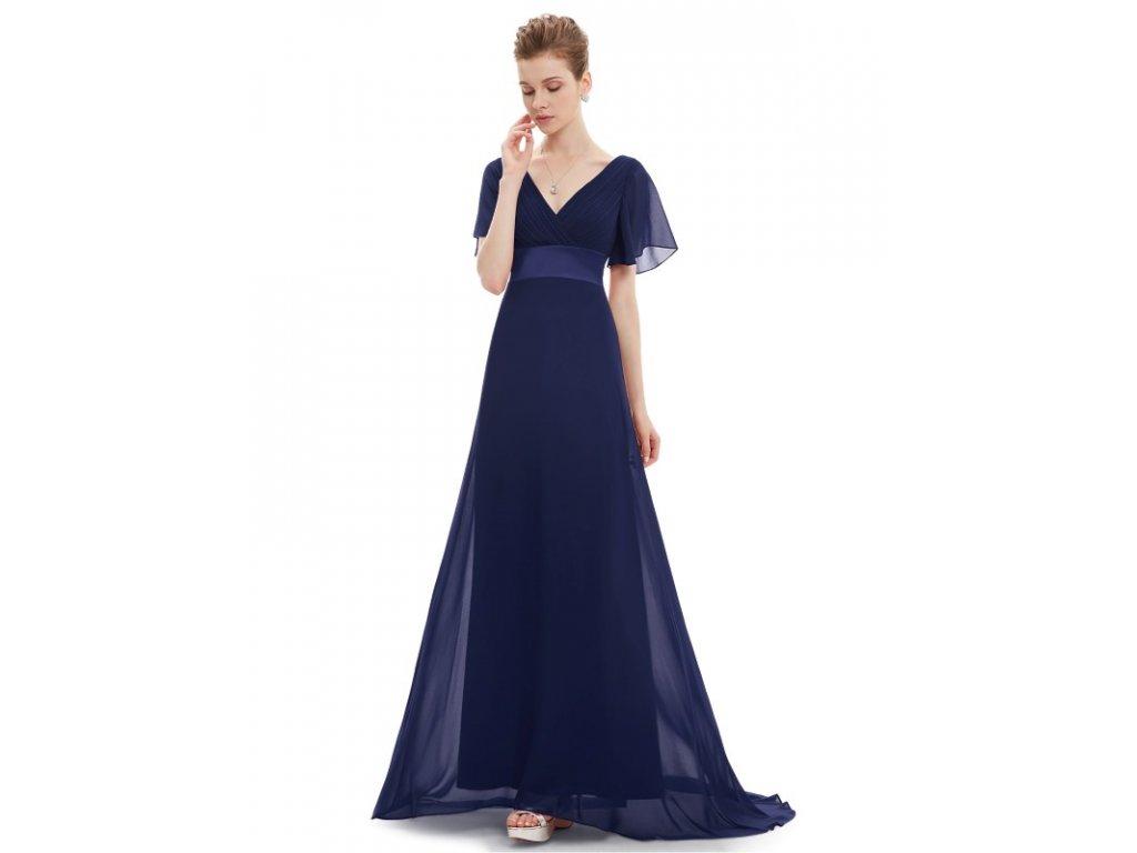 Ever Pretty plesové šaty modré 9890 (Velikost 3XL   48   16   20) 4455811804