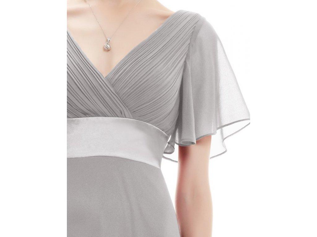 626302cfbac ... Ever Pretty plesové šaty šedé 9890 (Velikost 3XL   48   16   20) ...