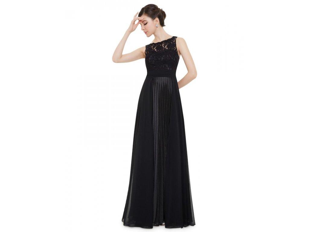 4a26b699038 Ever Pretty plesové šaty černé 8352 (Velikost 3XL   48   16   20)