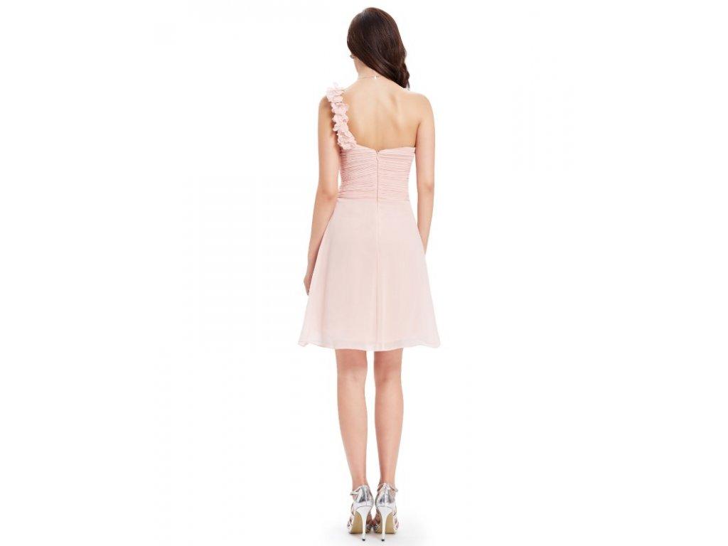 f60c7cbed2d ... Ever Pretty šifonové šaty krátké růžové 3535 (Velikost 3XL   48   16    20