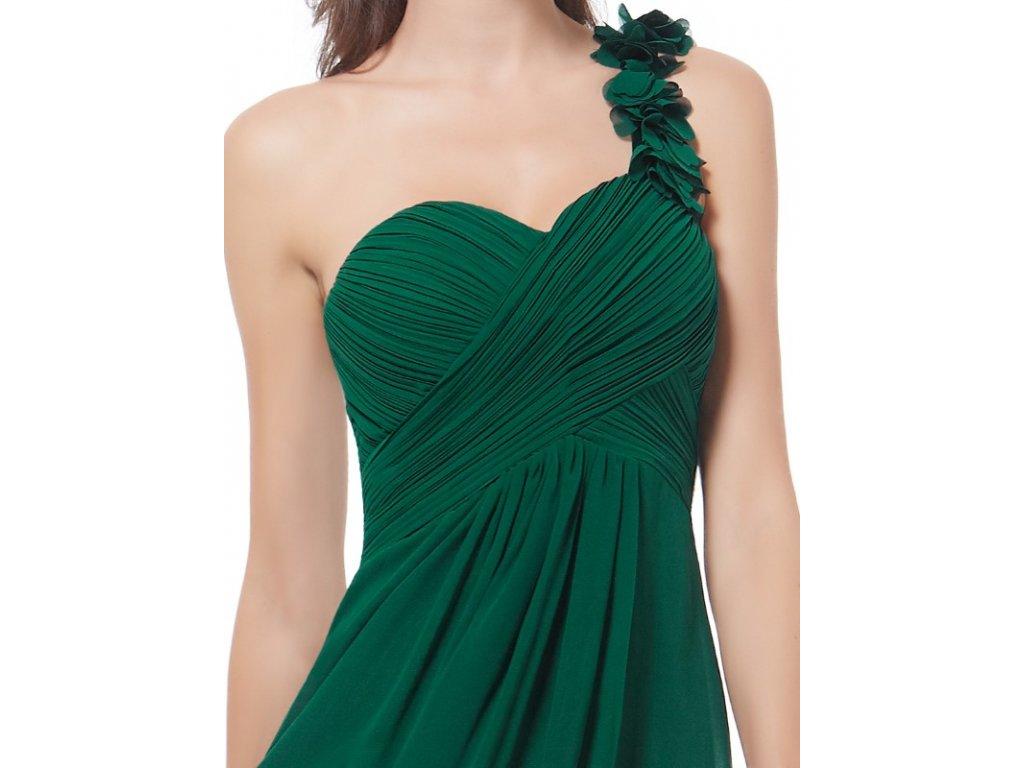 de683b5ec62 ... Ever Pretty šifonové šaty krátké zelené 3535 (Velikost 3XL   48   16    20