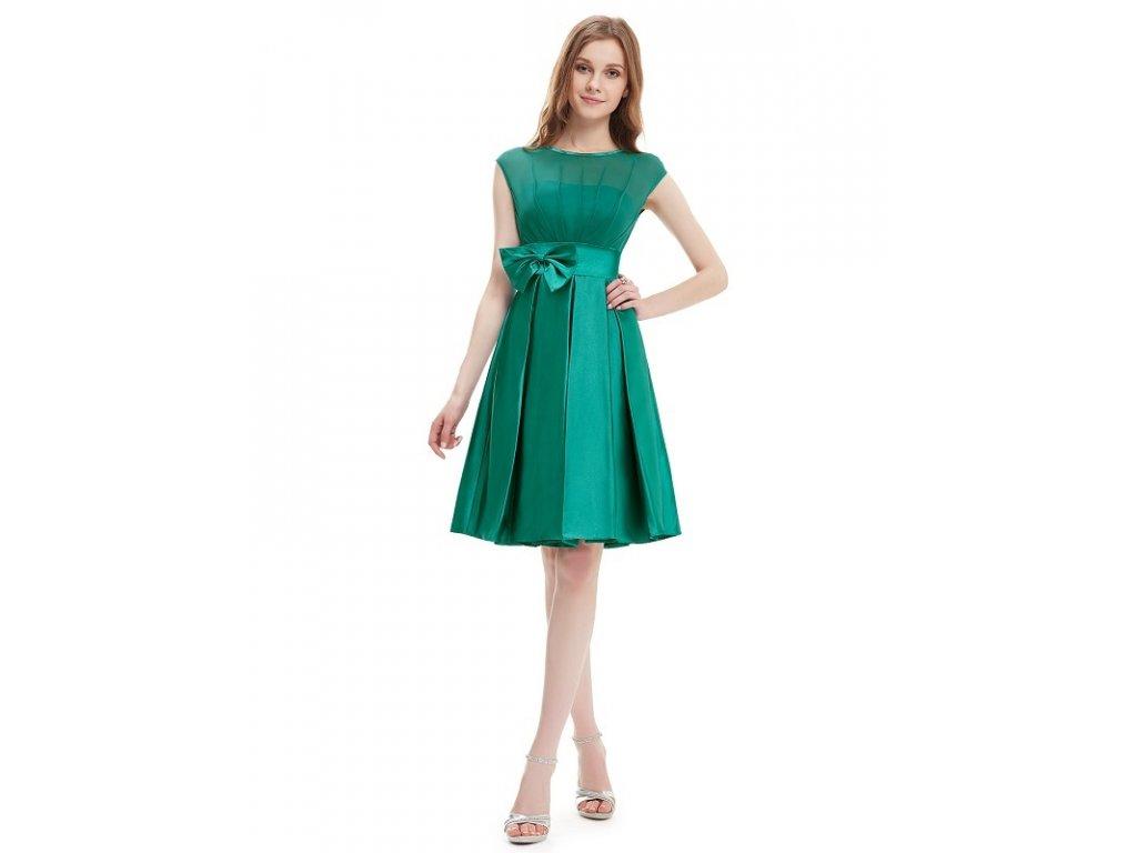 Ever Pretty šaty do tanečních, plesové zelené 6113 (Velikost 3XL / 48 / 16 / 20)
