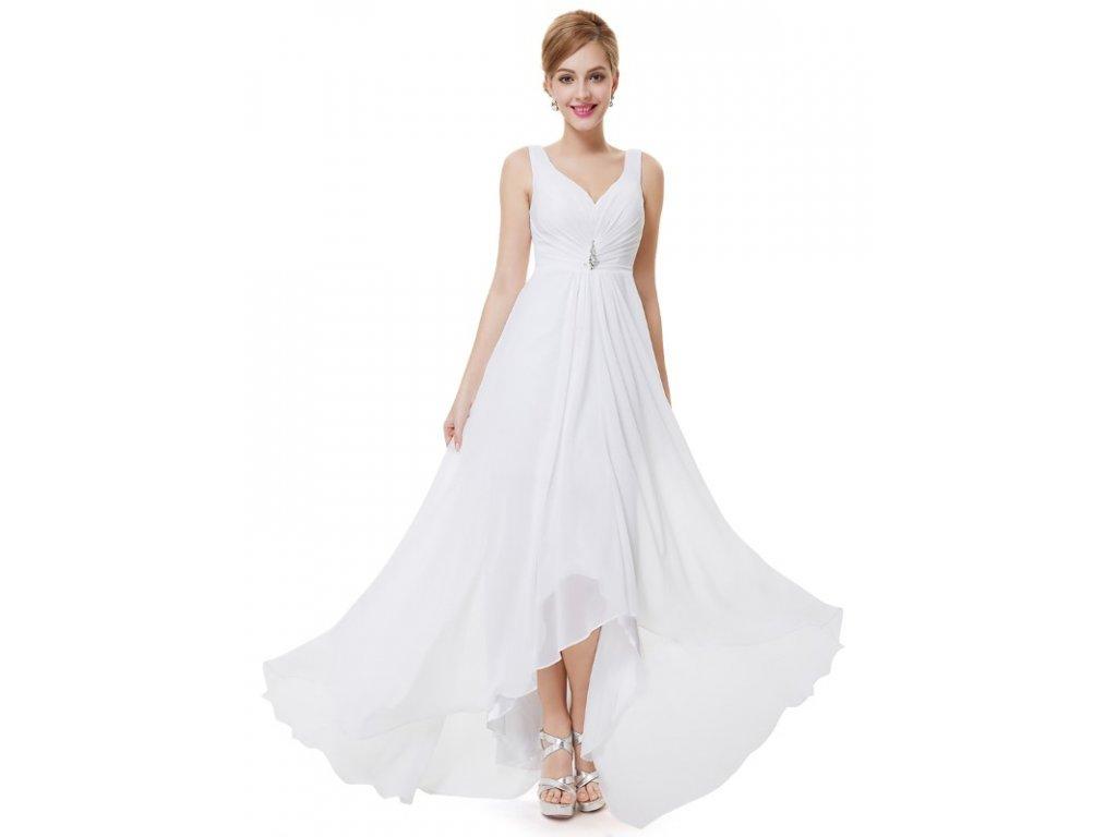 Svatební šaty bílé Ever Pretty 9983 (Velikost 3XL / 48 / 16 / 20)