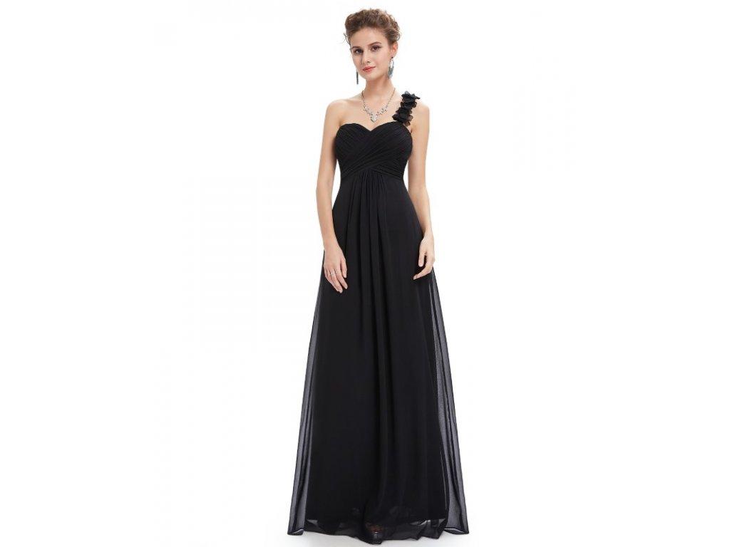 Ever Pretty plesové šaty černé 9768 (Velikost 3XL / 48 / 16 / 20)