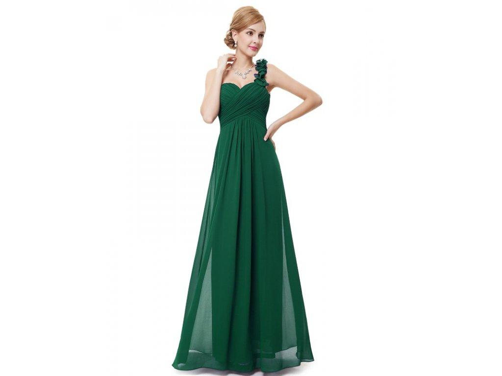 Ever Pretty plesové šaty zelené 9768 GR (Velikost 3XL   48   16   20 77b164fdab