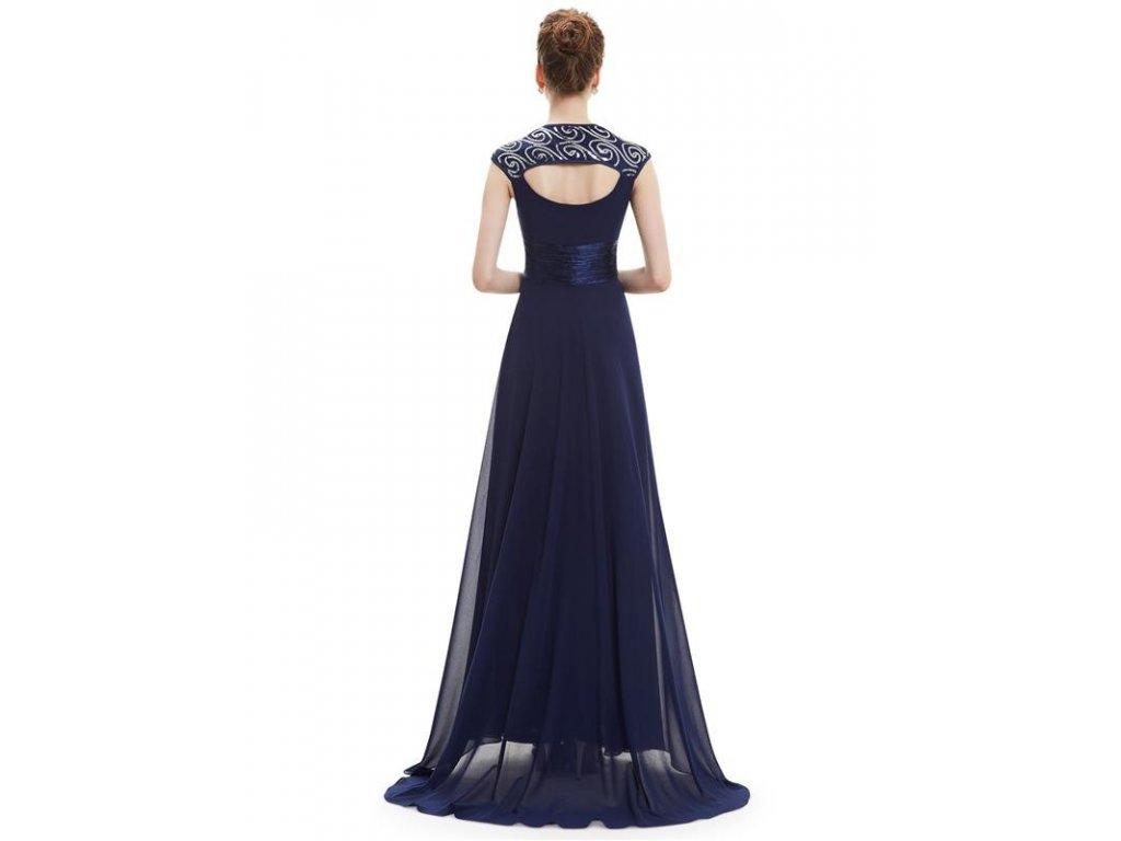46cdca6f84a ... Ever Pretty plesové šaty s flitry tmavě modrá 9672 (Velikost 3XL   48    16