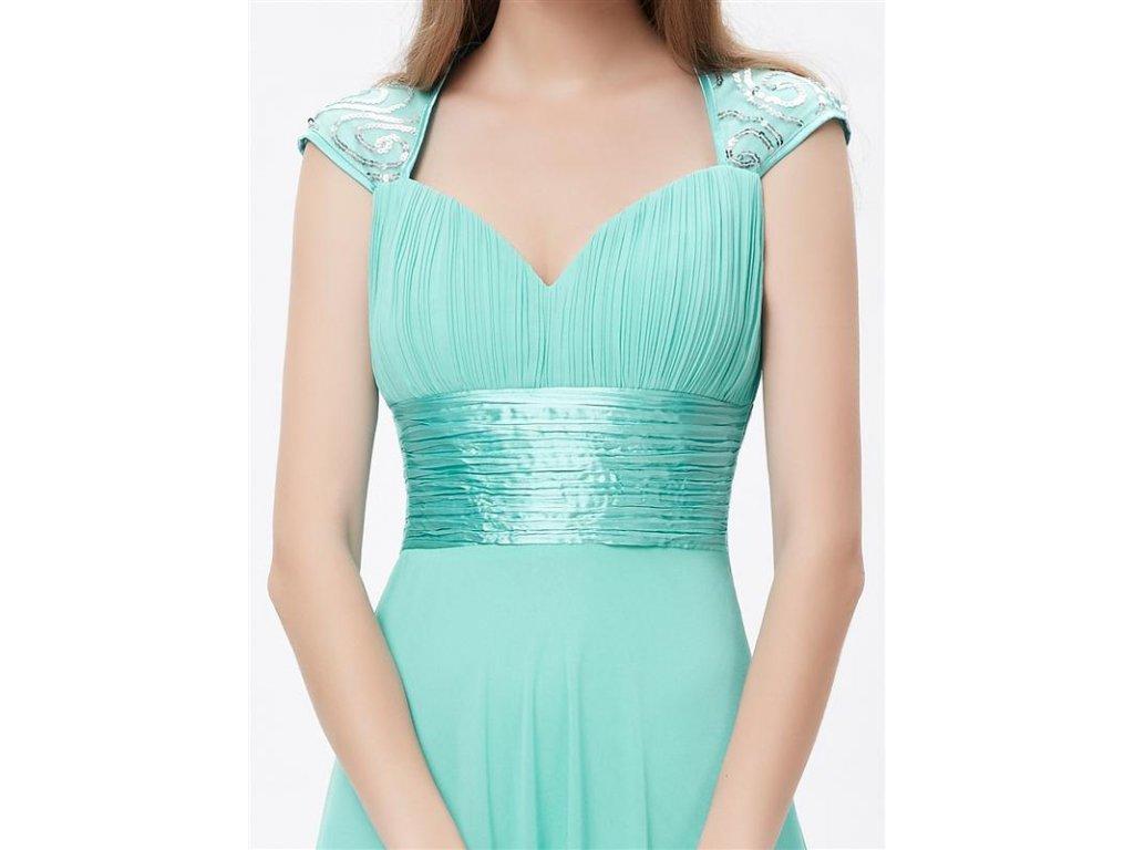 ... Ever Pretty plesové šaty s flitry tyrkysové 9672 (Velikost 3XL   48    16 ... e91bcaf1c6e