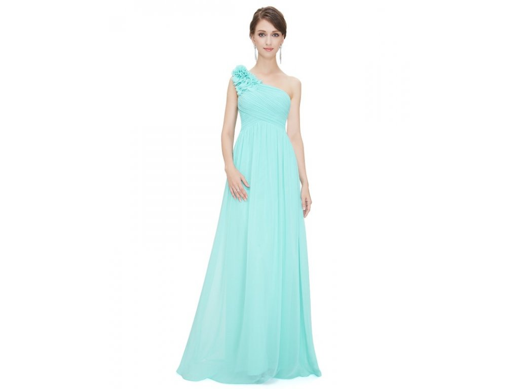 Ever Pretty plesové šaty tyrkysové 8237 LB (Velikost 3XL   48   16   20 bc5690769b