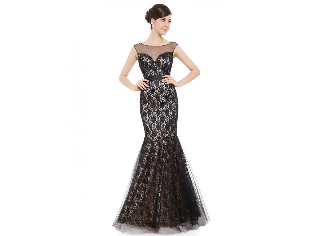 Dámské elegantní Ever Pretty plesové šaty černé 8471 - trendy ... b0a9108e92