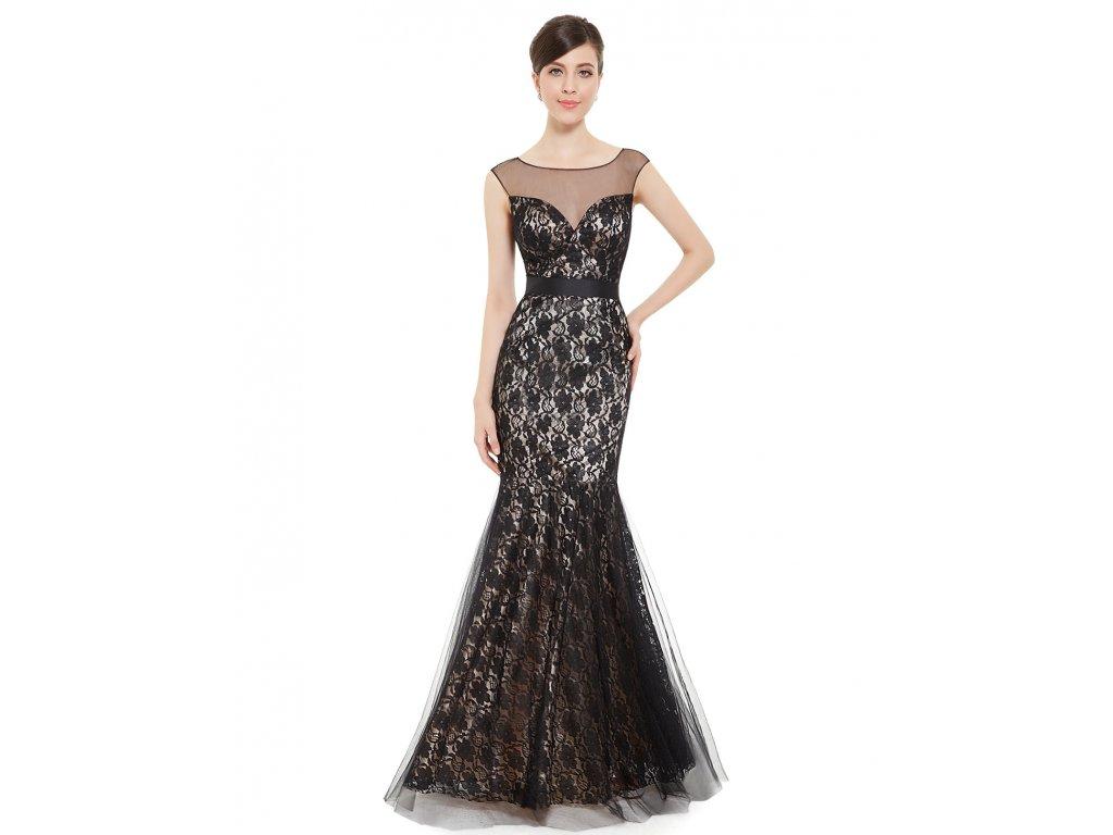 Dámské elegantní Ever Pretty plesové šaty černé 8471
