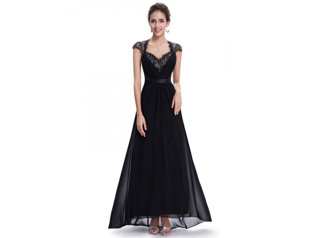 Ever Pretty společenské šaty černé 9867