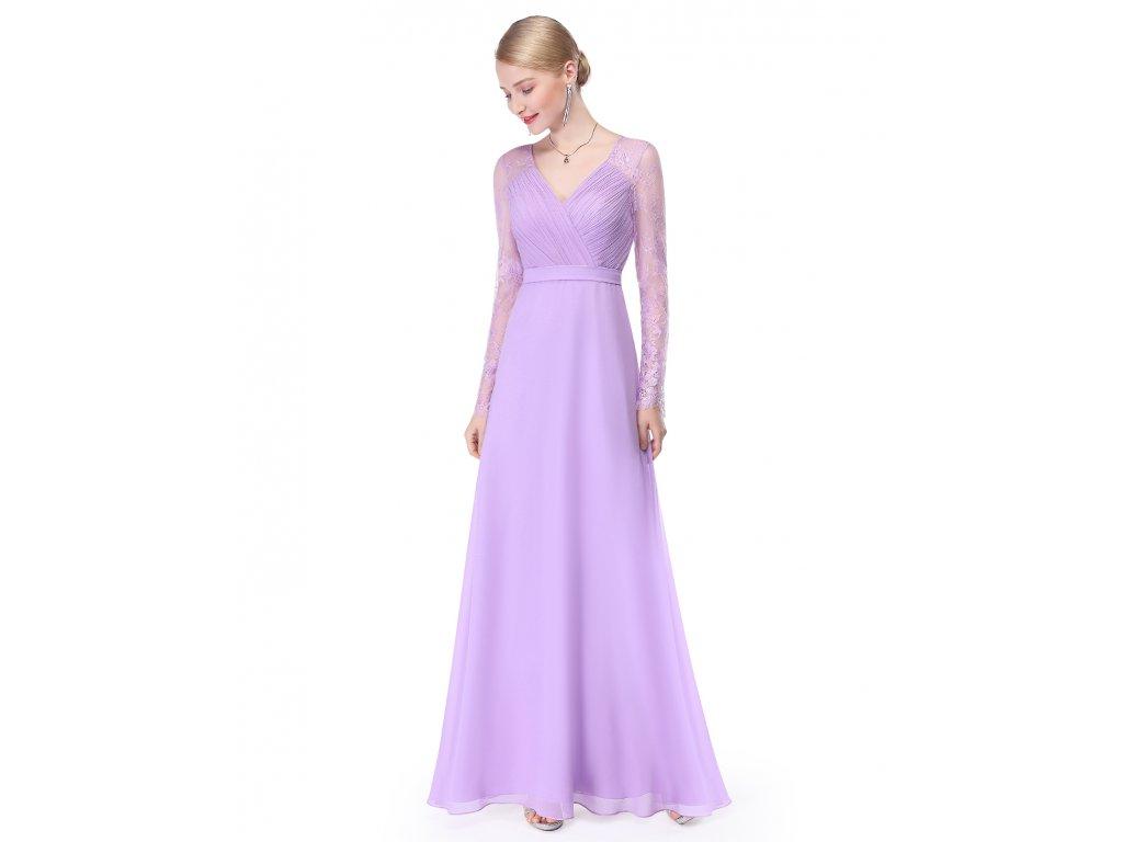 Šaty Ever Pretty plesové šaty světle fialové 8692 - trendy-obleceni.cz e8957623d5
