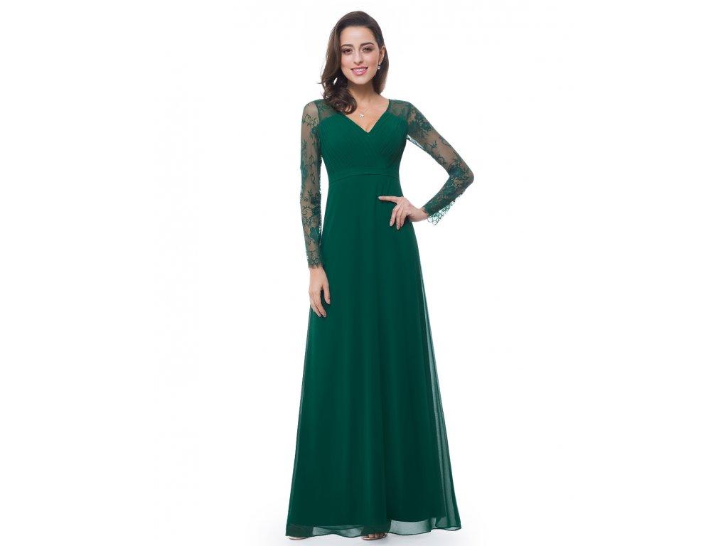 5df6d6eeaf7 Šaty Ever Pretty plesové šaty zelené 8692 - trendy-obleceni.cz
