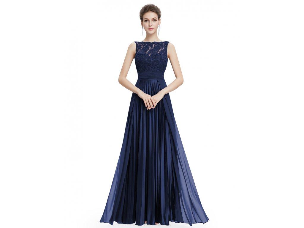 Ever Pretty plesové šaty tmavě modré 8352 - trendy-obleceni.cz 35c7b47392e