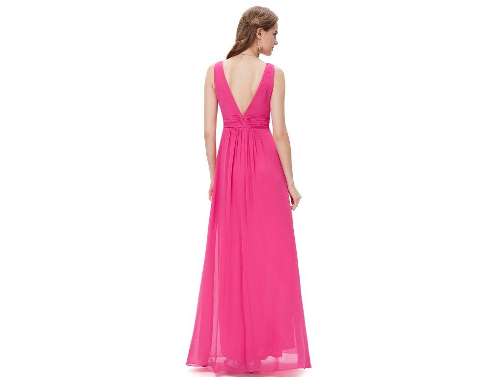Plesové šaty elegantní růžové Ever Pretty 8110 - trendy-obleceni.cz b9332eb589