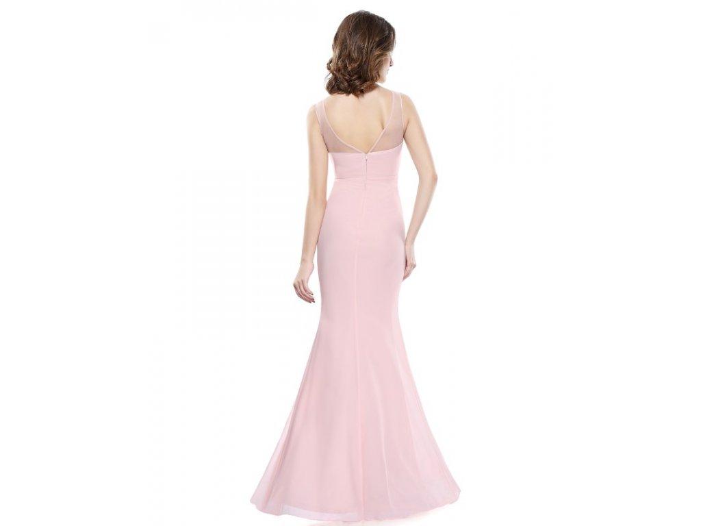 44abcff8aaf1 Ever Pretty plesové šaty jemně růžové s krajkou 8850 - trendy ...