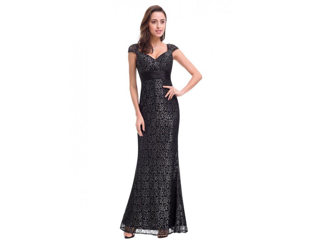 Ever Pretty plesové šaty krajka černé 8798 - trendy-obleceni.cz 260547683e