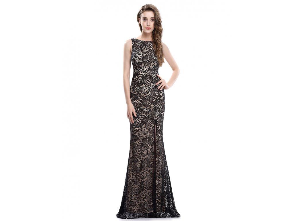 Elegantní krajkové Ever Pretty šaty černé 8859 - trendy-obleceni.cz 1e0418791f