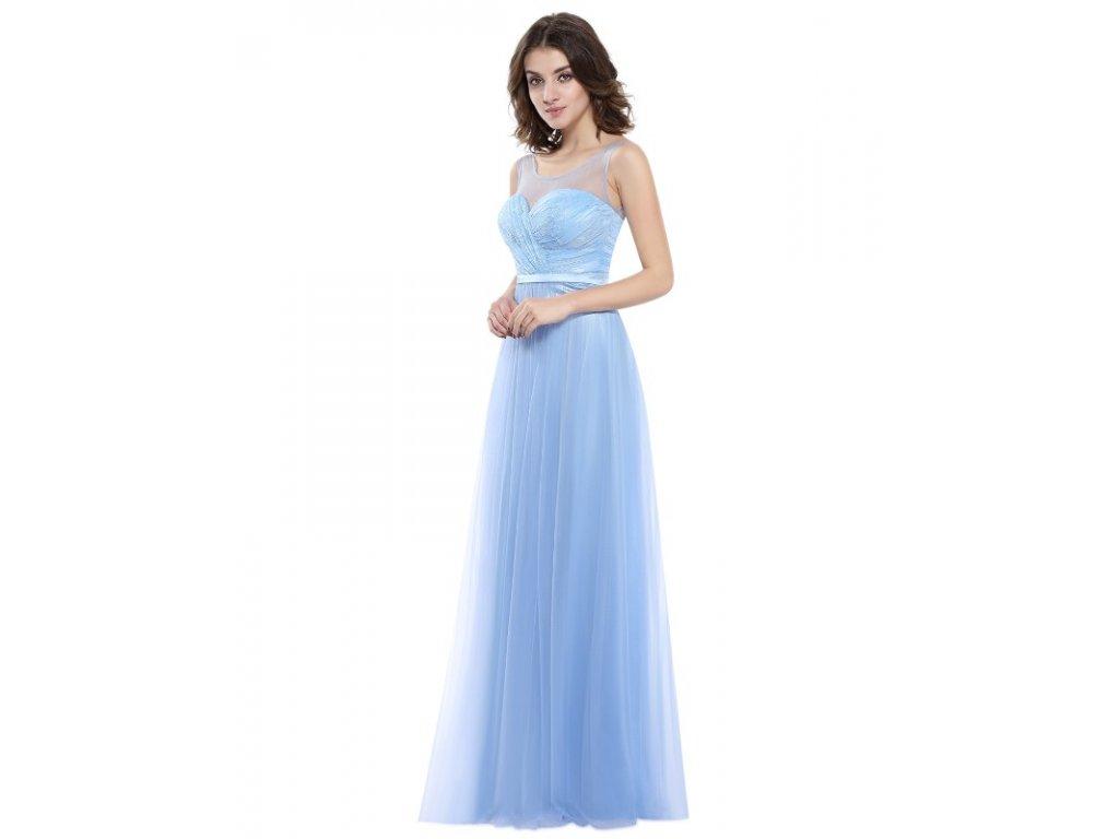 Ever Pretty plesové šaty modré 8833 - trendy-obleceni.cz 23e4ecc6020