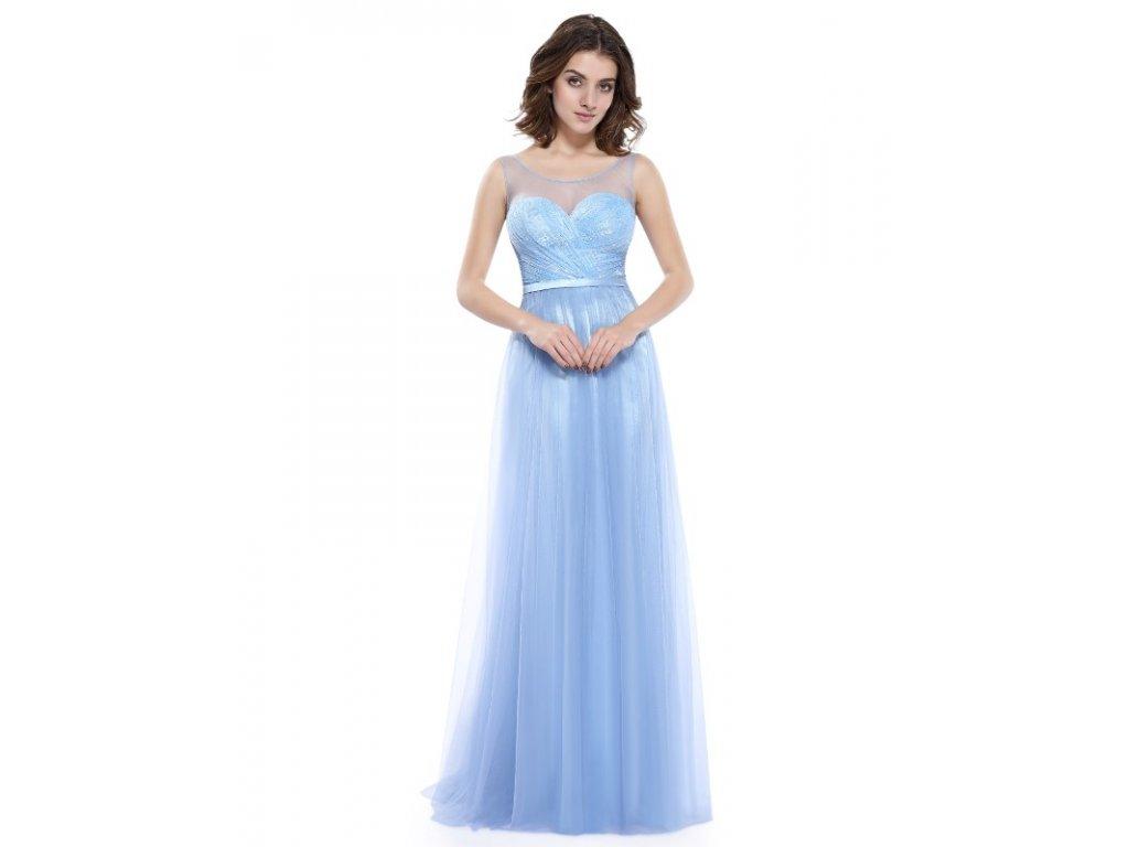 8cc4c2cce24a Ever Pretty plesové šaty modré 8833 - trendy-obleceni.cz