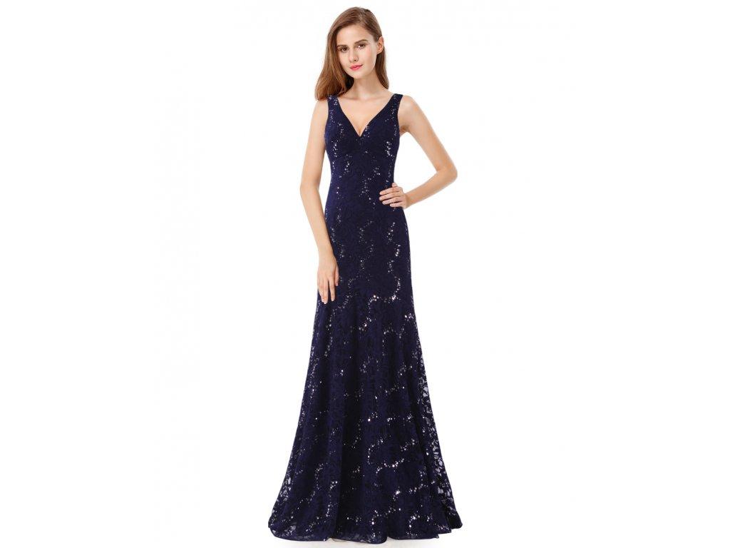 Ever Pretty plesové šaty tmavě modré 8855