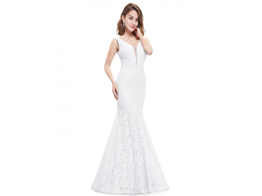 Svatební šaty Ever Pretty bílé krajkové 8838 - trendy-obleceni.cz 1f44de988b