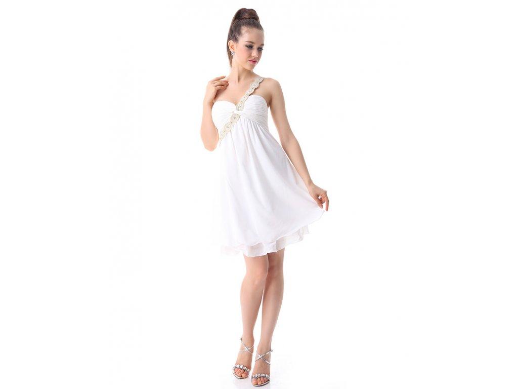 e0f8f273e70 Ever Pretty šaty krátké bílé 3321 - trendy-obleceni.cz