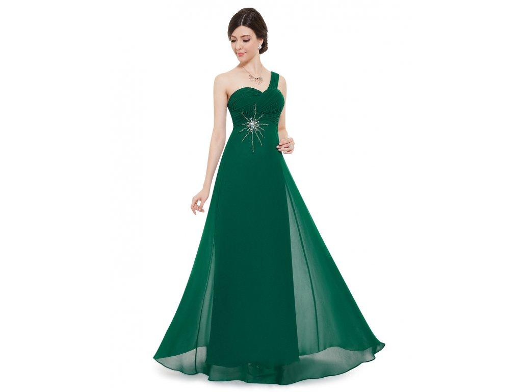 2a995430e5b7 Ever Pretty šifonové zelené šaty 8077 - trendy-obleceni.cz