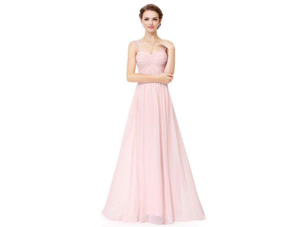7539b91b11c Ever Pretty šaty dlouhé elegantní světle růžové 8863 - trendy ...