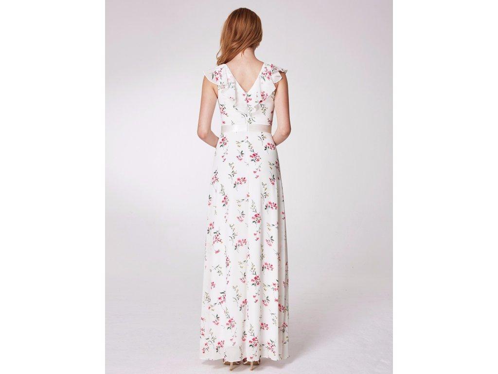 625a1e23aa0 Ever Pretty romantické bílé šaty 7241 - trendy-obleceni.cz