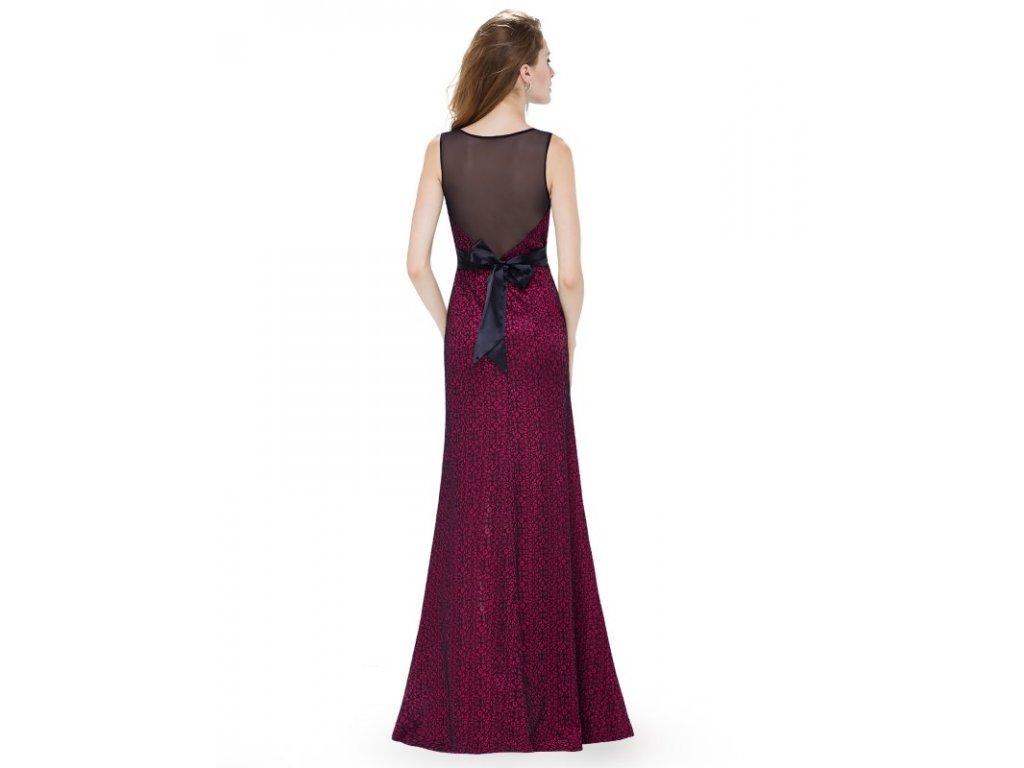 Ever Pretty plesové šaty vínové 8950 · Ever Pretty plesové šaty vínové 8950 36035342a3