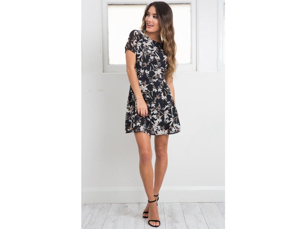 A Letní šaty krátké 4613-0