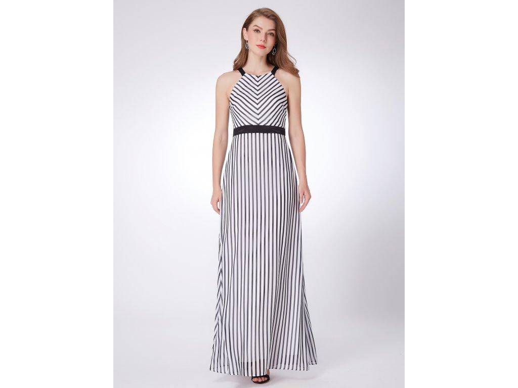 Dlouhé pruhované šaty 7289 - trendy-obleceni.cz 2b044ce584