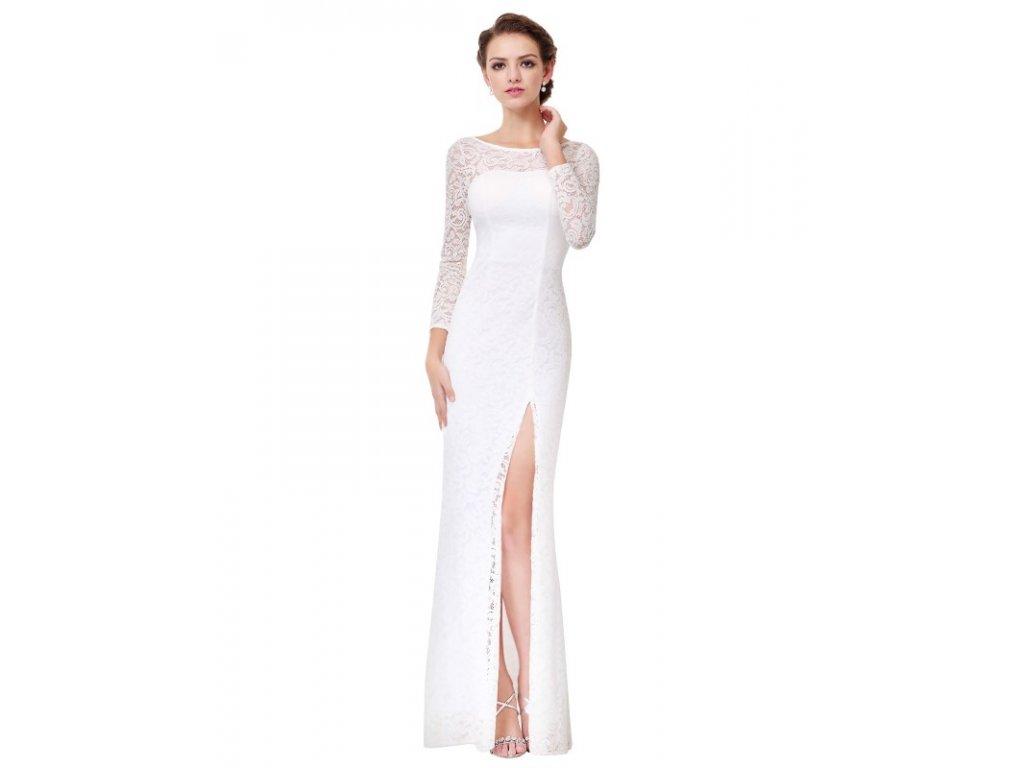 Ever Pretty svatební šaty bílé dlouhé 8883