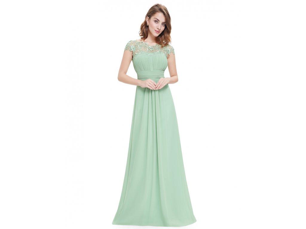 46cc84678ffe Ever Pretty mentolové šaty 9993 - trendy-obleceni.cz