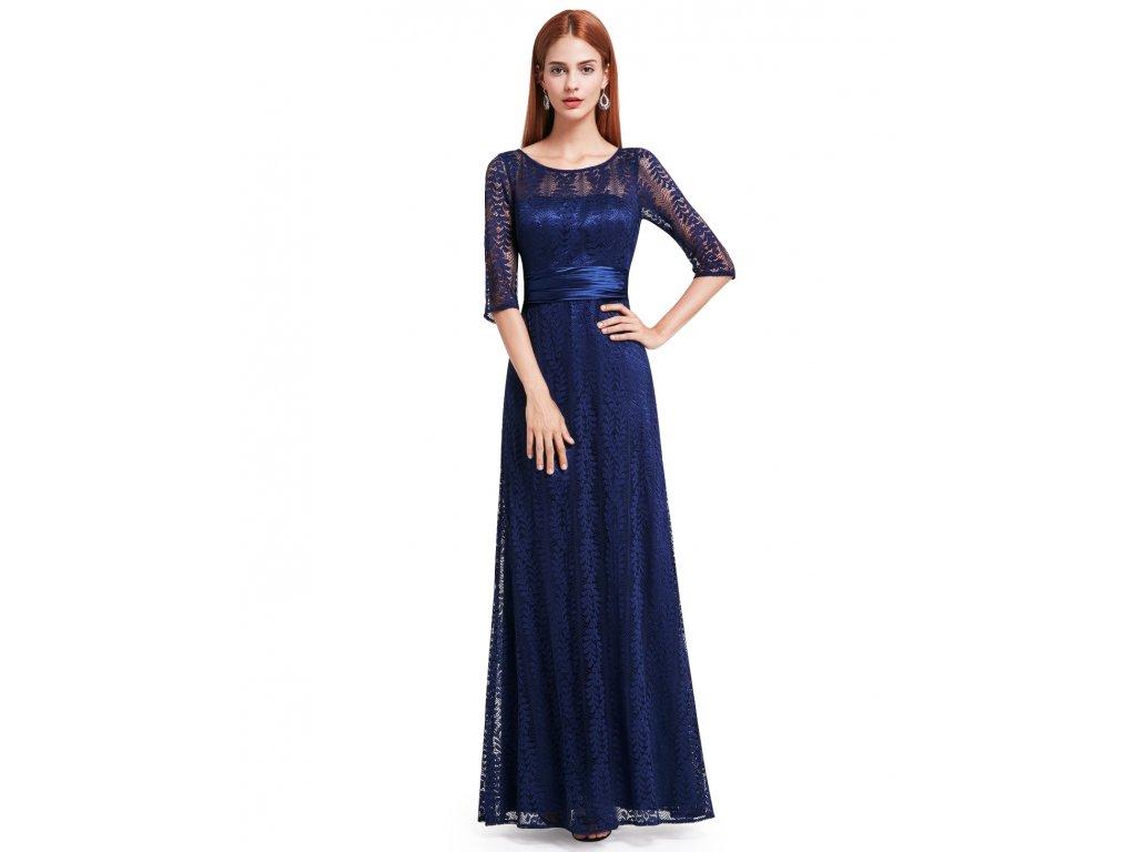 Modré dlouhé šaty Ever Pretty 8878 - trendy-obleceni.cz d626c6b266