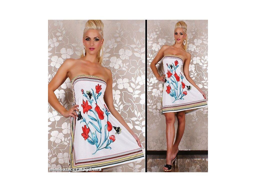 A Letní šaty k moři krátké c31277b7a6b