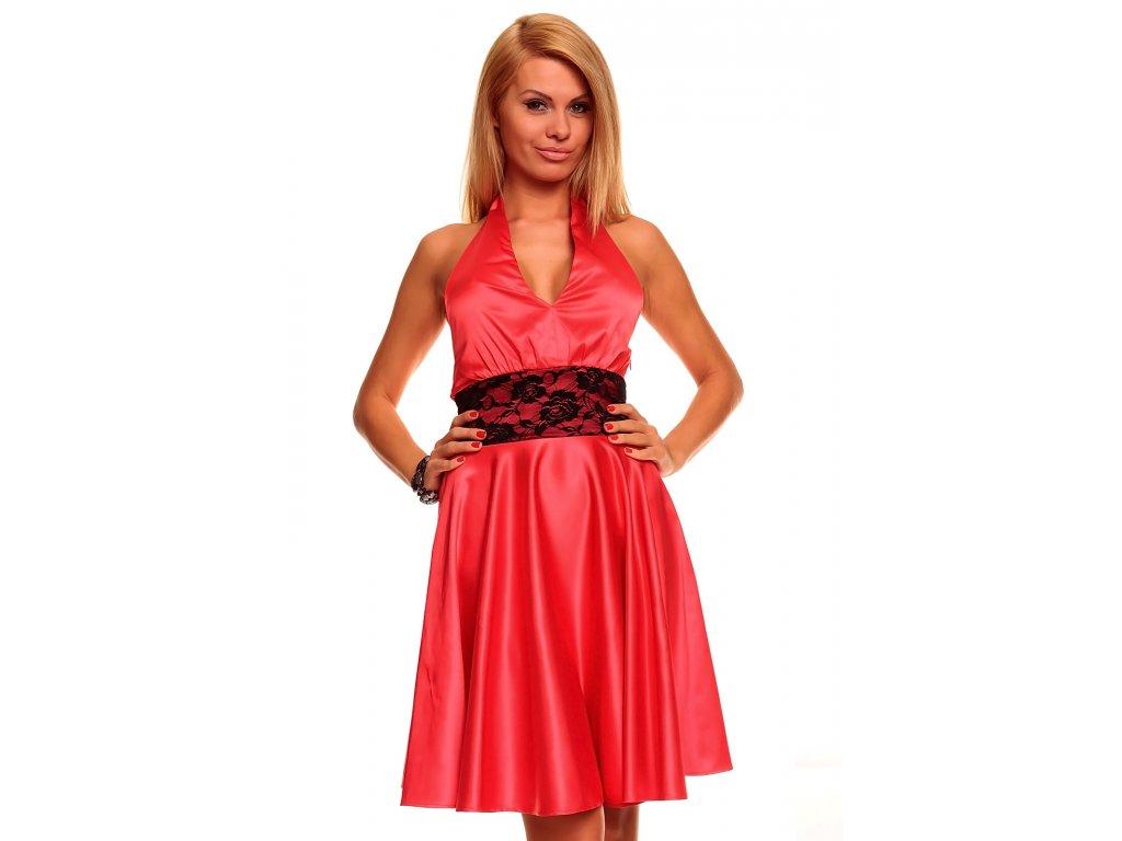 c2438926af7 A Mayaadi červené šaty s krajkou do tanečních - trendy-obleceni.cz